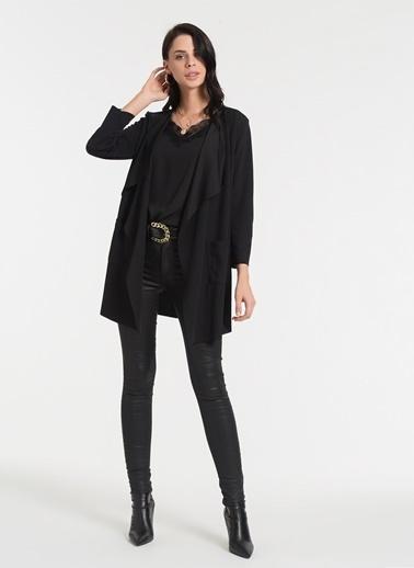 Styletag Mendil Hırka Siyah